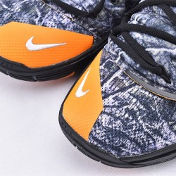 Nike Kyrie 5 Mens Basketball Shoes AO2919-902 Black Orange Sneakers