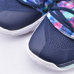 Nike Kyrie 5 Mens Basketball Shoes AQ2456-900 Deep Blue Silver Sneakers