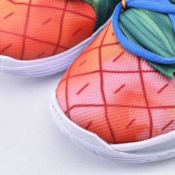 Nike Kyrie 5 SpongeBob Basketball Shoes CJ6951-800 Mens Blue Fuchsia Sneakers