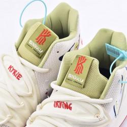 Nike Kyrie 5 x Bandulu White Red Sneakers CK5837-100 Unisex Basketball Shoes