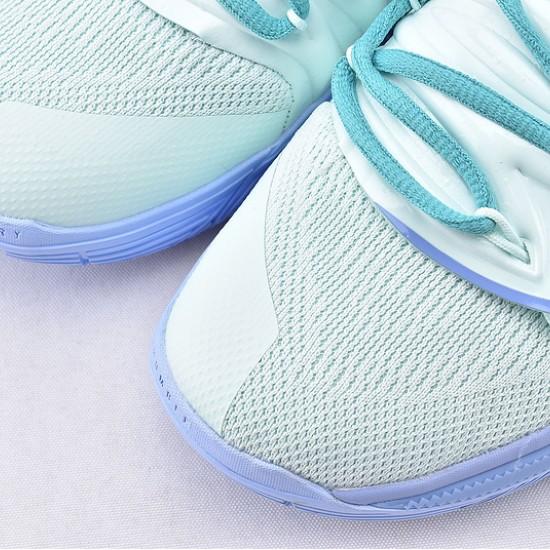 Nike Kyrie 5 x Patrick Star Basketball Shoes CJ6951-300 Light Blue Brown Mens Sneakers