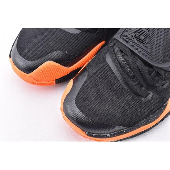 Nike Kyrie 6 Black Orange Mens Basketball Shoes BQ4630-006 Sneakers