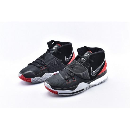 Nike Kyrie 6 Black Red Mens Basketball Shoes BQ4631-002 Sneakers