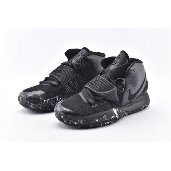Nike Kyrie 6 Mens Basketball Shoes BQ4630-001 All Black Sneakers
