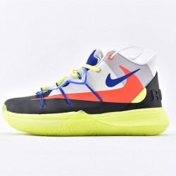 Nike Kyrie 5 X Rokit Green Black Sneakers CJ7853-900 Mens Basketball Shoes