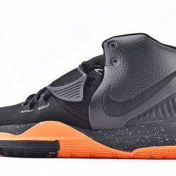 Nike Kyrie 6 Black Orange Mens Basketball Shoes BQ4630-006 Sneakers