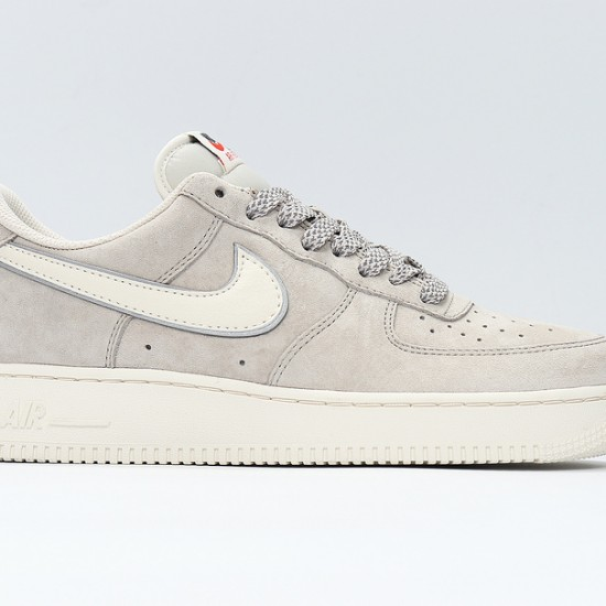 Air Force 1 Low Gray White Unisex Running Shoes AQ8741-101 AF1 Sneakers