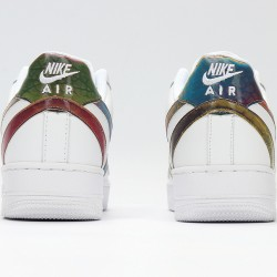 Nike Air Force 1 Low White Blue Unisex Running Shoes CK7214-101 AF1 Sneakers