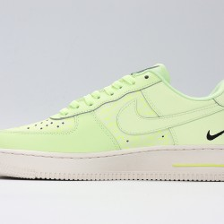 Air Force 1 Low Jues Do It Yellow Green Unisex Running Shoes CT2541-700 AF1 Sneakers