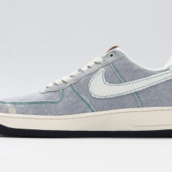 Levis x Air Force 1 Green White Sneakers CI5766-994 AF1 Unisex Running Shoes