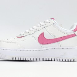 Nike Air Force 1 Low Shadow Pink White Womens Running Shoes CI0919-102 AF1 Sneakers