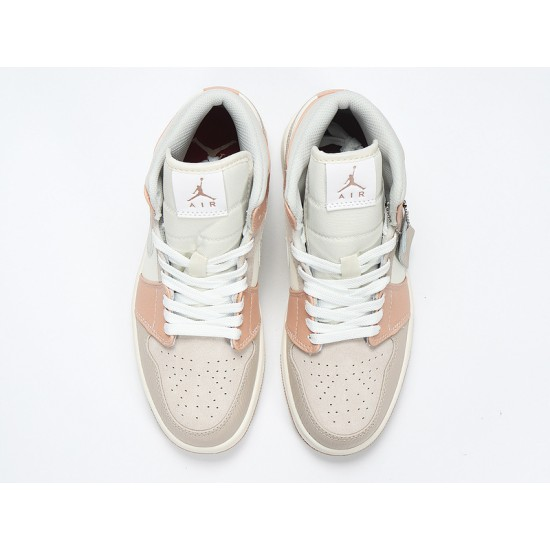 Newest Nike Air Jordan 1 Mid Khaki Basketball Shoes CV3044-100 AJ1 ...