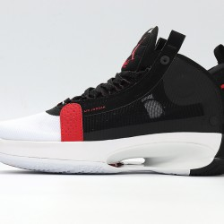 Nike Air Jordan 34 Bred Black White Basketball Shoes BQ3381-100 AJ34 Unisex Sneakers