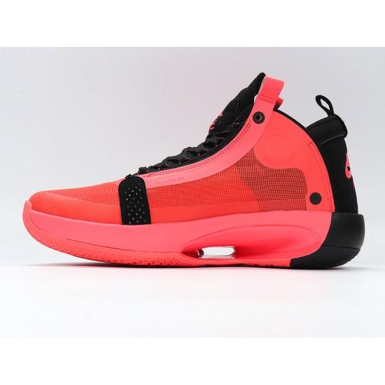 Nike Air Jordan 34 Infrared 23 Black Red Basketball Shoes AR3240-600 AJ34 Mens Sneakers