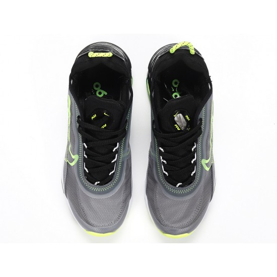 Nike Air Max 2090 Gray Green Unisex Running Shoes CT7698-011