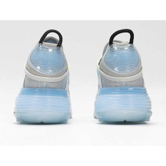 Nike Air Max 2090 Photon Dust Unisex Gray Blue Running Shoes CT7695-400 Sneakers