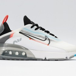 Nike Air Max 2090 Pure Platinum White Blue Black Unisex Running Shoes CT7695-400 Sneaker
