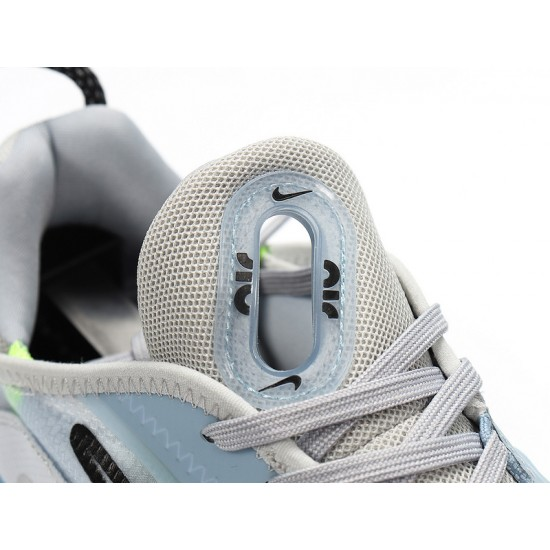 Nike Air Max 2090 Pure Platinum White Blue Black Unisex Running Shoes CT7695-400 Sneaker