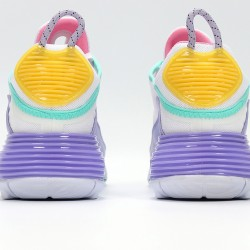 Nike Air Max 2090 White Purple Yellow Unisex Running Shoes CT7698-009