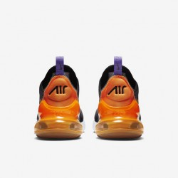 Nike Air Max 270 Mens Running Shoes Black Orange Sneakers CN7077 081