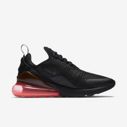 Nike Air Max 270 Mens Running Shoes Black Red Brown Sneakers AH8050 010