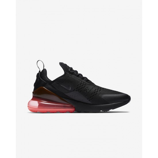 Nike Air Max 270 Mens Running Shoes Black Red Brown Sneakers AH8050 010