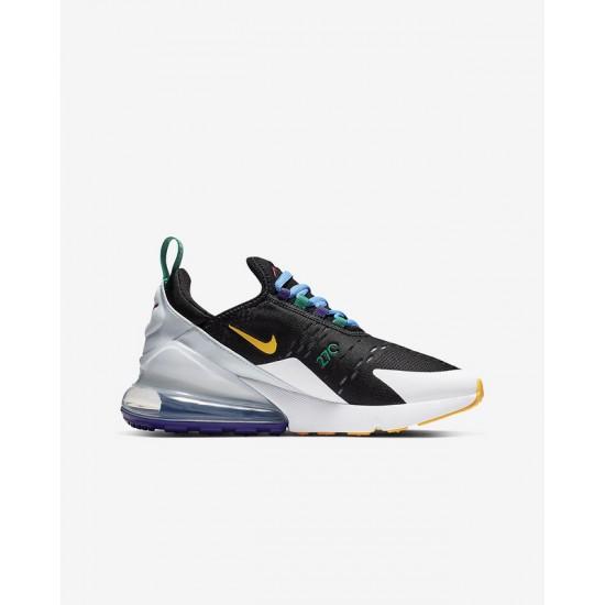 Nike Air Max 270 Mens Running Shoes Gray Black Sneakers CN7078 071