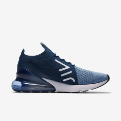 Nike Air Max 270 Mens Running Shoes Light Blue Deep Blue Sneakers AO1023 400