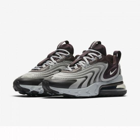 Nike Air Max 270 React Eng Black Gray Womens Running Shoes CK2595 600