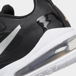 Nike Air Max 270 React Men Sneaker Black White Running Shoes CT3426 001