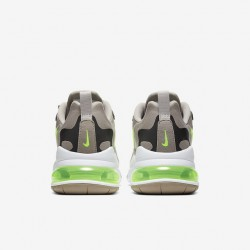 Nike Air Max 270 React Men Sneaker Gray Green Running Shoes CQ4598 231