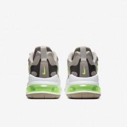 Nike Air Max 270 React Men Sneaker Gray Green Running Shoes CQ4598 231
