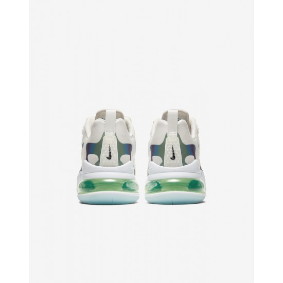Nike Air Max 270 React Men Women Sneaker White Blue Running Shoes CT5064 100