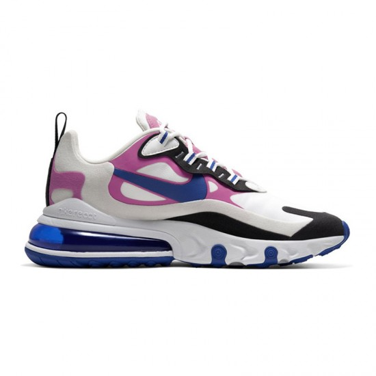 Nike Air Max 270 React Women Sneaker White Black Pink Running Shoes CI3899 100