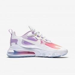 Nike Air Max 270 React Women Sneaker White Pink Purple Running Shoes CU2995 911