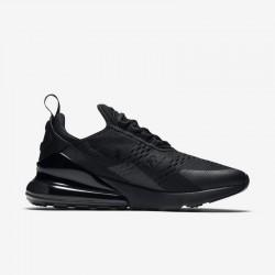 Nike Air Max 270 Womens Mens Running Shoes All Black Sneakers AH8050 005