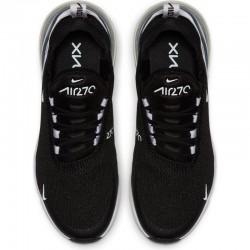 Nike Air Max 270 Womens Mens Running Shoes Black White Gray Sneakers AH6789 013