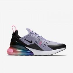 Nike Air Max 270 Womens Mens Running Shoes Gray Pink Black Sneakers AR0344 500