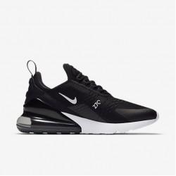 Nike Air Max 270 Womens Mens Running Shoes White Black Sneakers AH8050-002