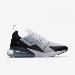 Nike Air Max 270 Womens Mens Running Shoes White Blue Black Sneakers AH8050-001