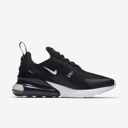 Nike Air Max 270 Womens Running Shoes Black White Sneakers AH6789-001