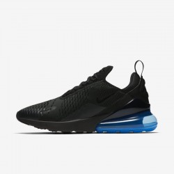 Nike Air Max 270 Mens Running Shoes Black Blue Sneakers AH8050 009