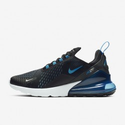 Nike Air Max 270 Mens Running Shoes Black Blue White Sneakers AH8050 019
