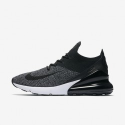 Nike Air Max 270 Mens Running Shoes Gray White Black Sneakers AO1023 001