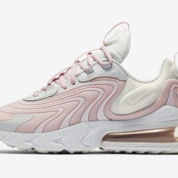 Nike Air Max 270 React Eng Pink White Womens Running Shoes CK2595 001