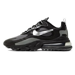 Nike Air Max 270 React Men Sneaker Black White Gray Running Shoes CD2049 001