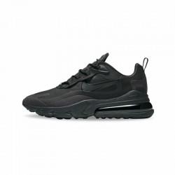 Nike Air Max 270 React Men Women Sneaker Black Running Shoes AO4971 003
