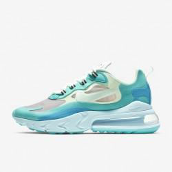 Nike Air Max 270 React Men Women Sneaker Blue Green Gray Running Shoes AO4971 301