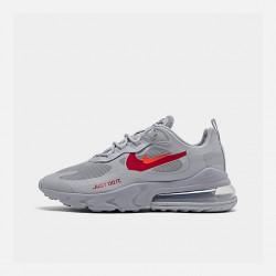Nike Air Max 270 React Men Women Sneaker Smoke Gray Red Running Shoes CT2203 002