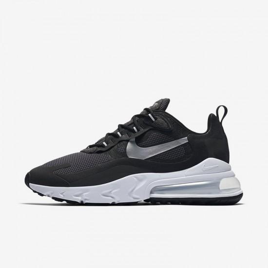 Nike Air Max 270 React Mens Sneaker Black Gray Running Shoes CQ4598 071